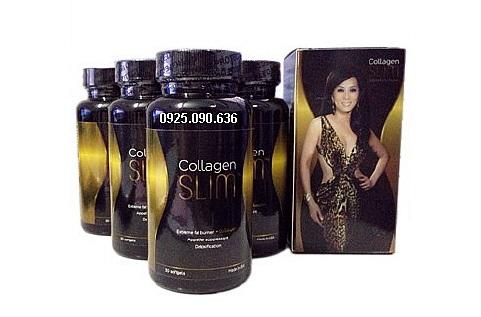 COLLAGEN SLIM, viên giảm cân bổ sung Collagen
