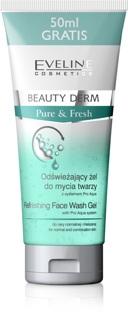 Gel rửa mặt Eveline Beauty Derm cho da thường và da hỗn hợp