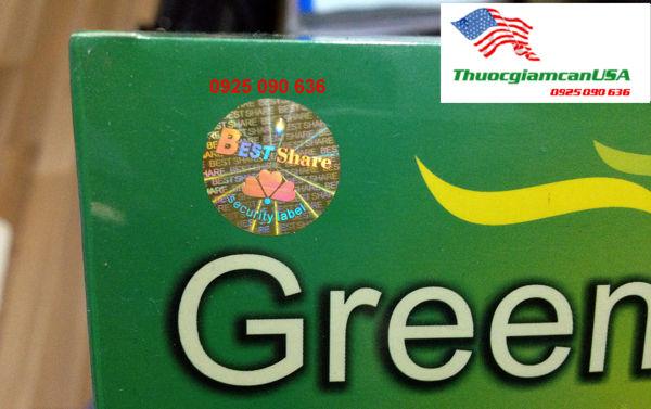 Green Coffee - Cà phê xanh giảm cân của Mỹ
