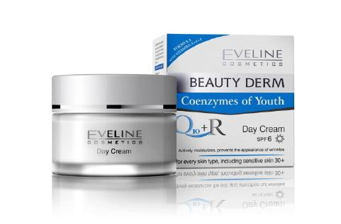 Eveline Beauty Derm Q10 + R Day Cream - Kem dưỡng da ban ngày