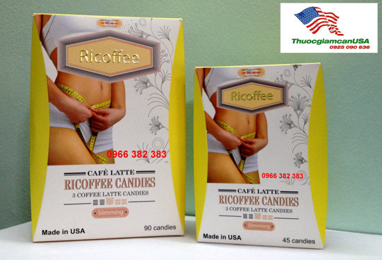 Ricoffee - Kẹo giảm cân Ricoffee đến từ USA