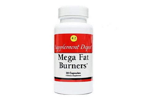 Mega Fat Burners, Viên giảm cân an toàn của Nutrition Depot