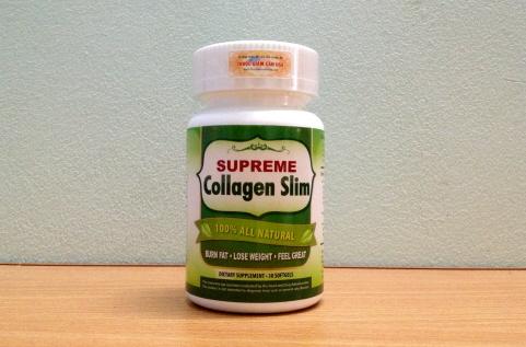 Supreme Collagen Slim, viên giảm cân bổ sung Collagen